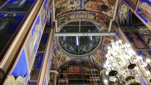 Суздаль. Фрески Рождественского собора в кремле