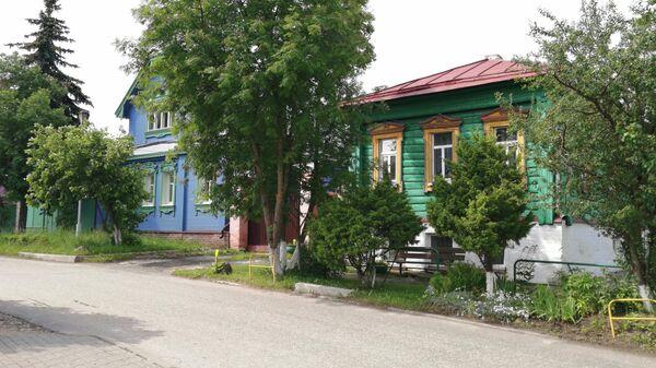 Суздаль. Жилые дома на улице Старая