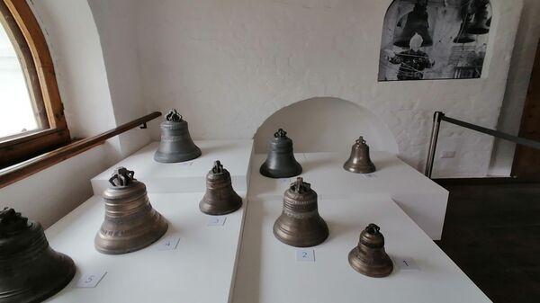Суздаль. Выставка колоколов в одном из музеев Спасо-Ефимиева монастыря