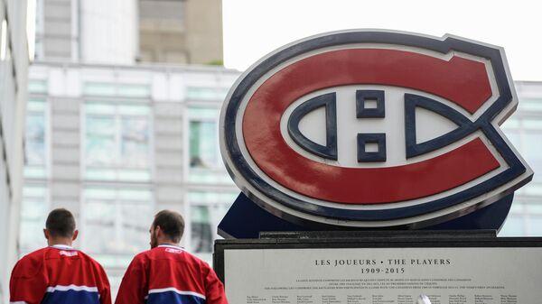 Логотип клуба НХЛ Монреаль Канадиенс
