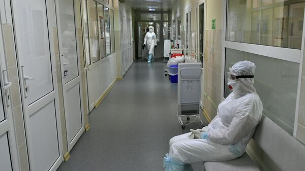 Госпиталь для лечения больных Covid-19 в Краснодаре