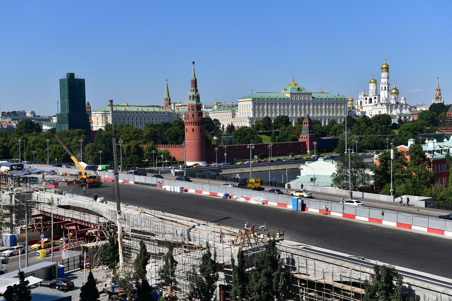 Комплексная реставрация Большого Каменного моста - РИА Новости, 1920, 09.07.2021