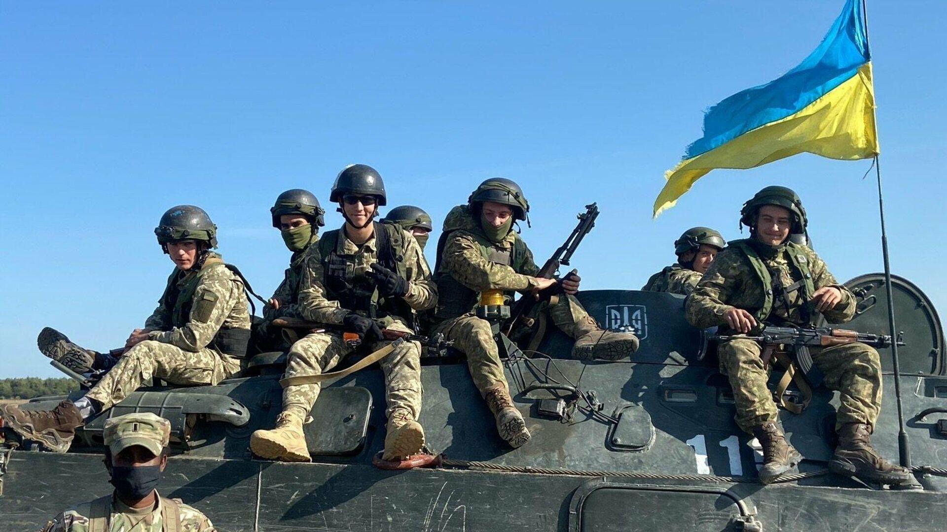 Украинские военные - РИА Новости, 1920, 31.07.2021
