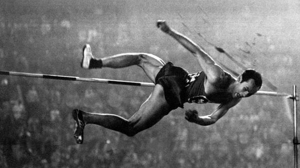 Валерий Брумель на Олимпийских играх 1964 года в Токио