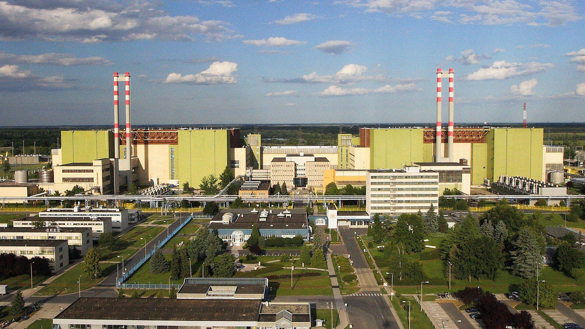 Атомная электростанция Пакш в Венгрии - РИА Новости, 1920, 12.07.2021
