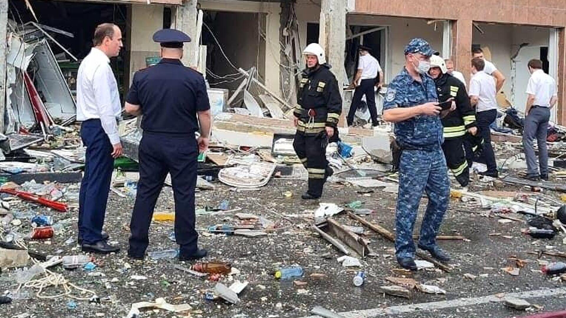 Взрыв газа в гостинице в Геленджике - РИА Новости, 1920, 19.07.2021