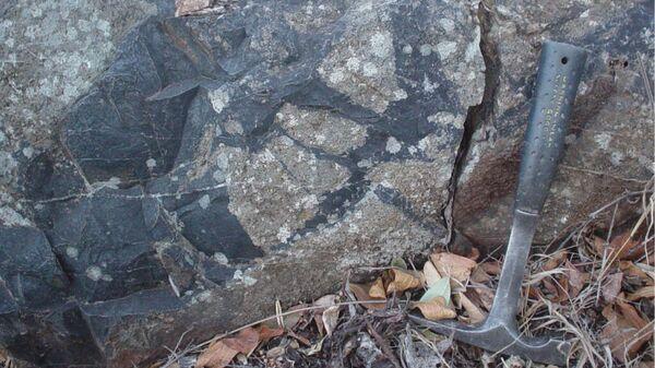 Осадочные породы, в которых были найдены окаменелости древнейших микробов, питавшихся метаном