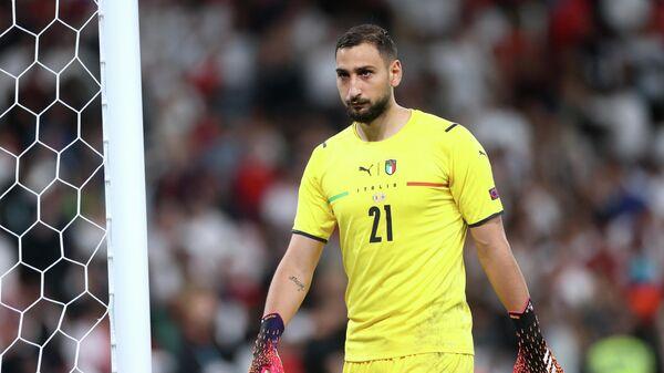 Вратарь сборной Италии Джанлуиджи Доннарумма