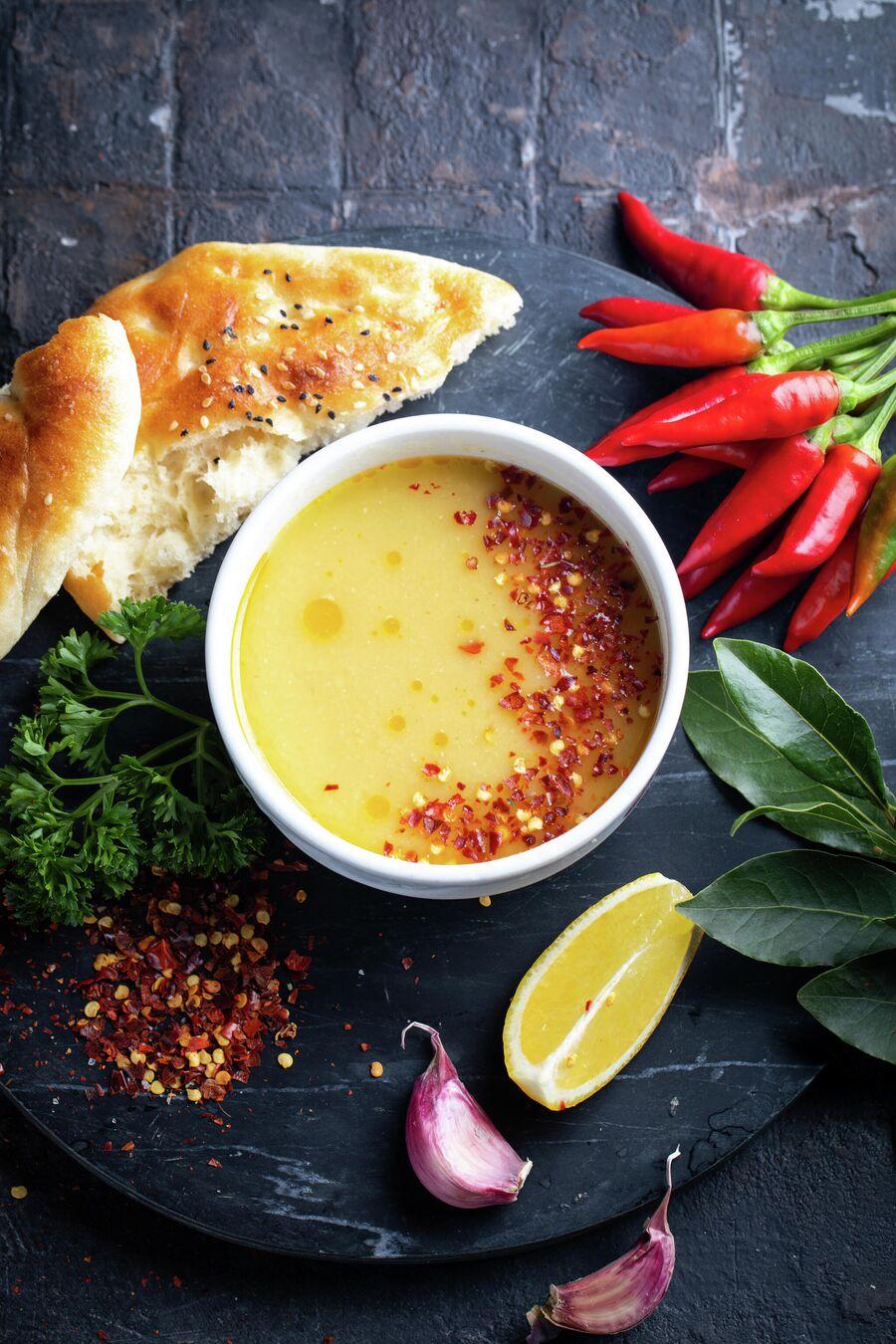 Мерджимек чорбасы (турецкийчечевичныйсуп)
