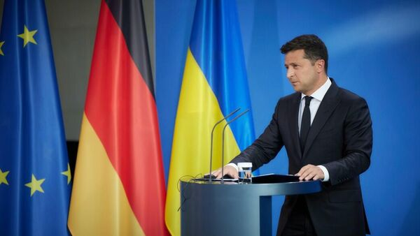 Рабочий визит президента Украины Владимира Зеленского в Германию