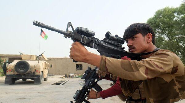 Военнослужащий правительственных войск Афганистана