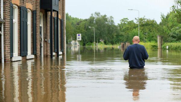 Наводнение в Гелле, Нидерланды
