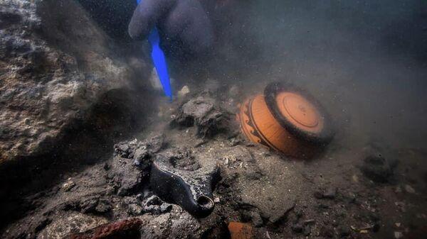 Египетско-французская археологическая экспедиция обнаружила обломки военного корабля в заливе Абу-Кир