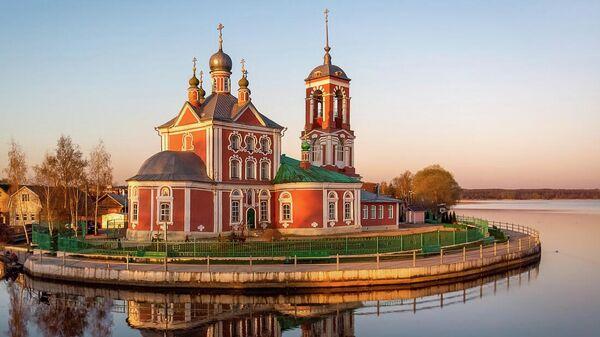 Устье реки Трубеж в Переславле-Залесском