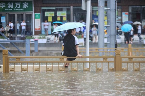Наводнение в Чжэнчжоу, Китай