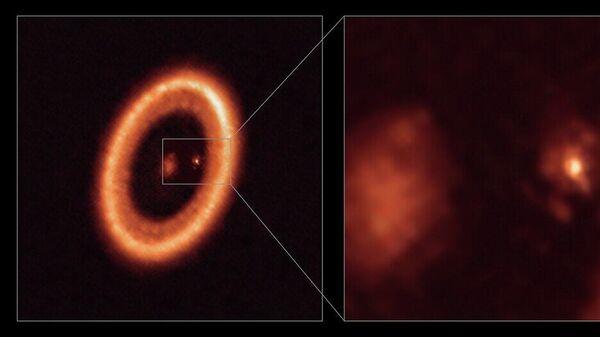 Обнаружена первая экзопланета с околопланетным диском