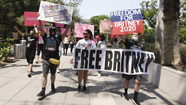 Кадр из документального фильма Бритни Спирс под прицелом