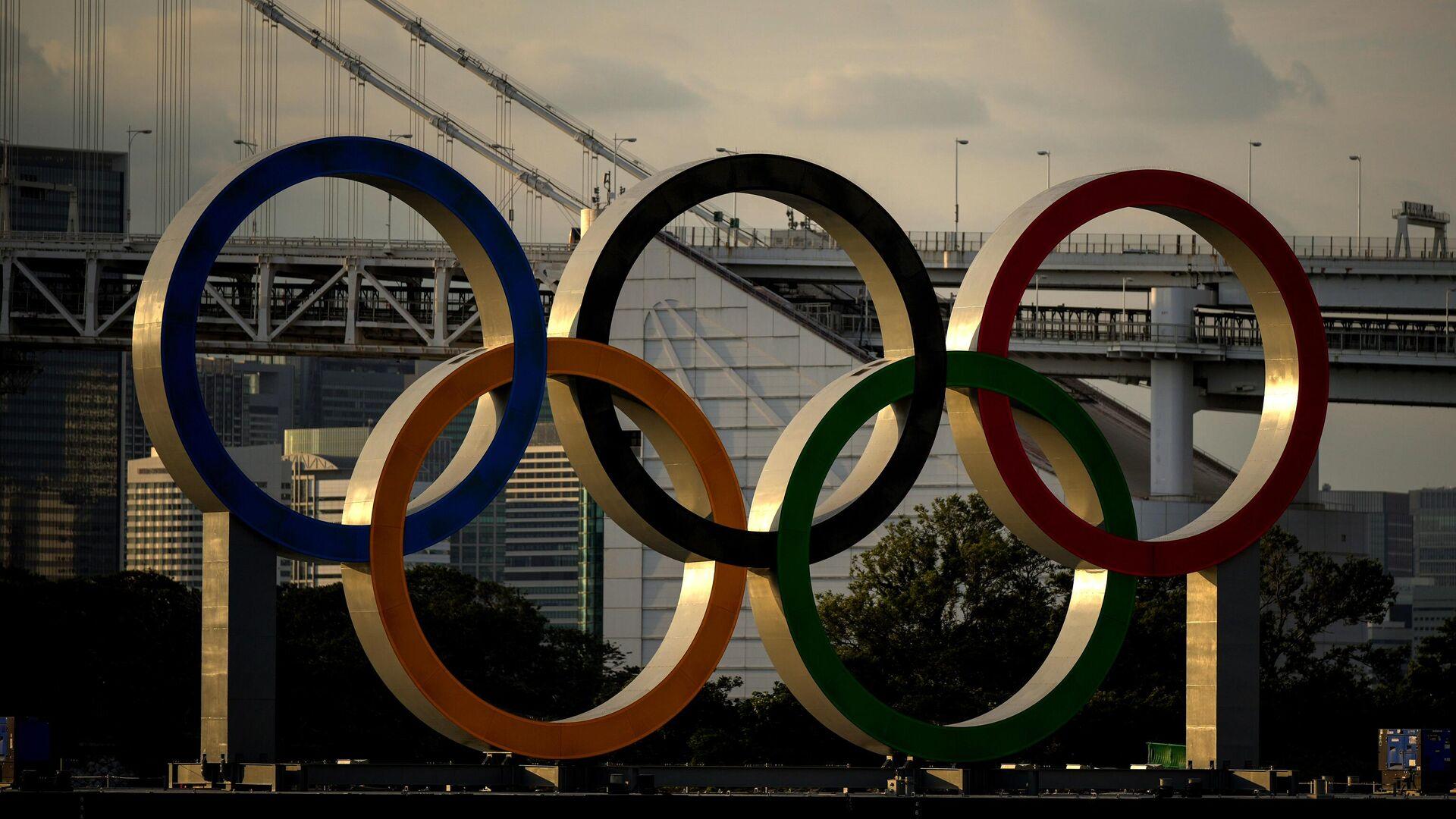 Токио накануне открытия Олимпийских игр - РИА Новости, 1920, 24.07.2021
