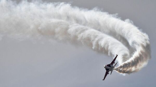 Учебно-боевой самолет Як-130 участвует в летной программе МАКС-2021