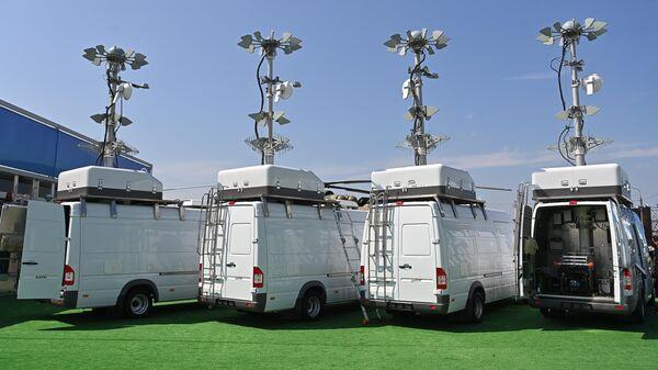 Мобильные комплексы защиты от беспилотников Сапфир , представленные на МАКС-2021