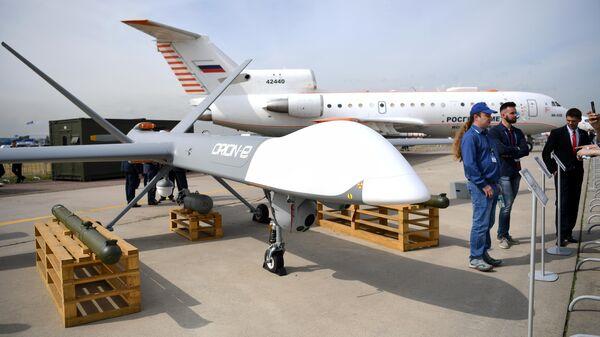 Беспилотный летательный аппарат Орион-Э, представленный на МАКС-2021