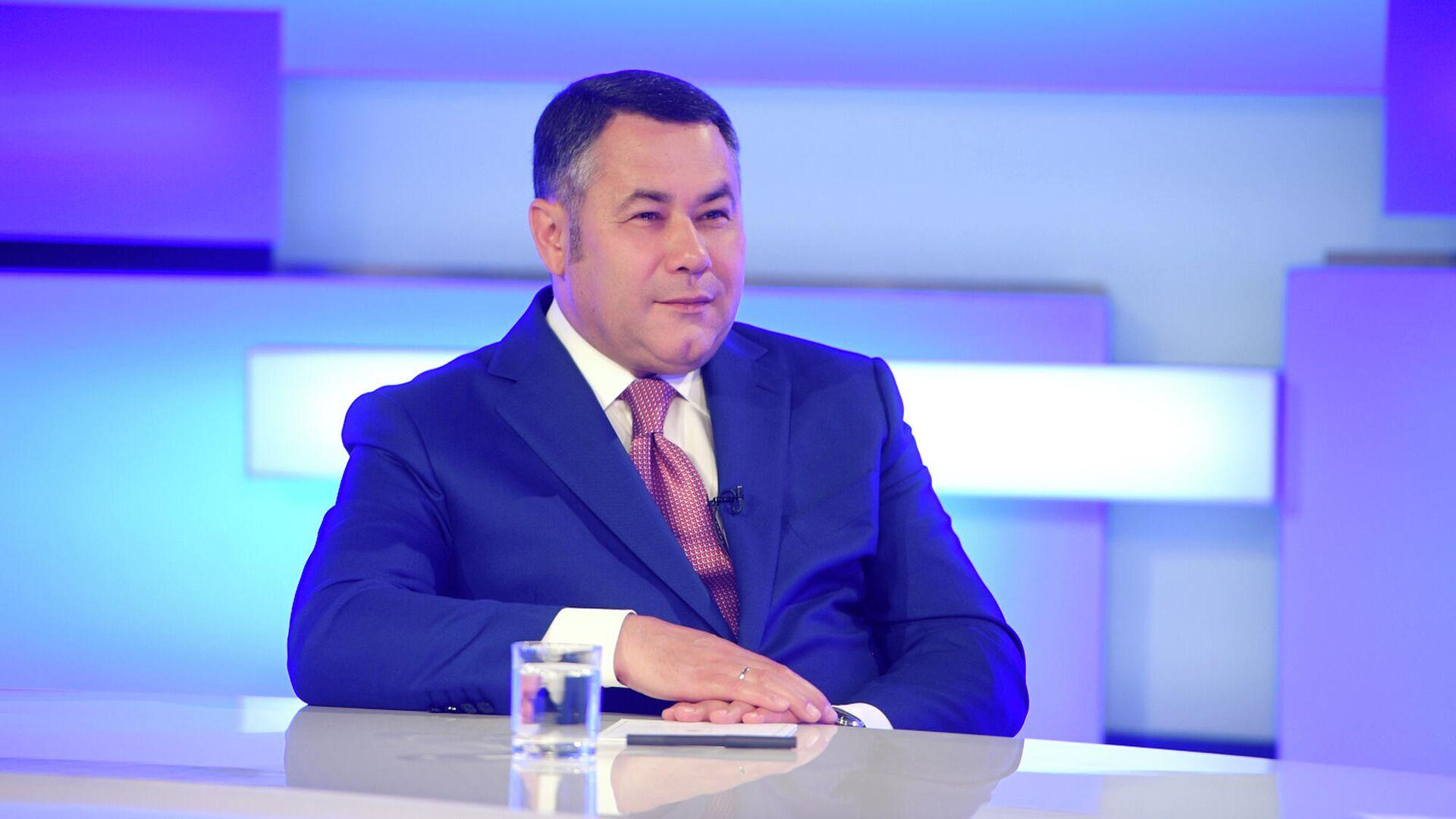 Руденя представил документы для регистрации кандидатом в губернаторы