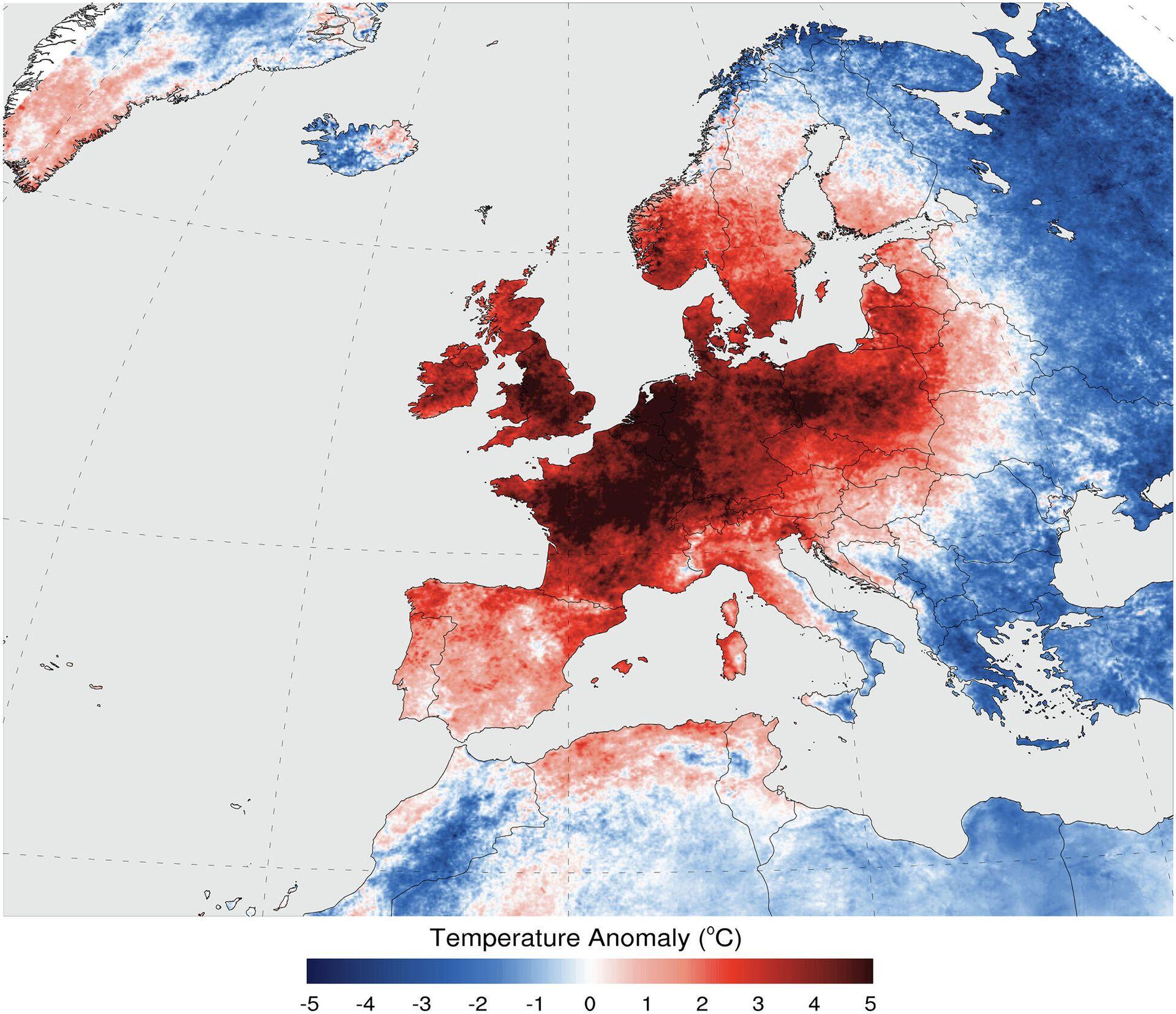 Волна тепла в Европе в июле 2006 года - РИА Новости, 1920, 26.07.2021