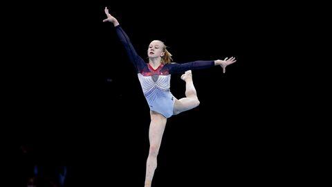 Спортивная гимнастика. Чемпионат Европы. Второй день