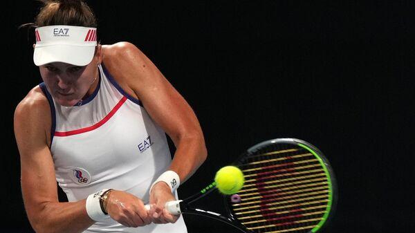 Олимпиада-2020. Теннис. Женщины. Кудерметова/Веснина - Зигемунд/Фридзам