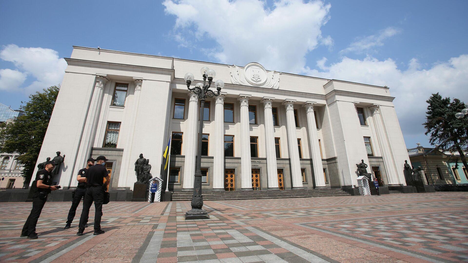 Здание Верховной рады Украины в Киеве - РИА Новости, 1920, 14.09.2021