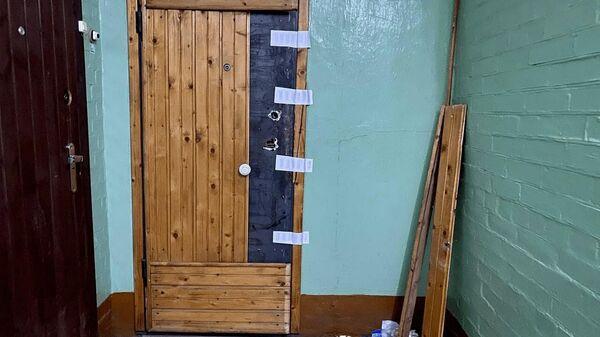 Квартира, где нашли убитой семью контр-адмирала Лобанова
