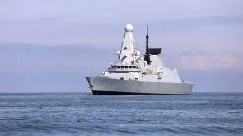 Британский эсминец Defender