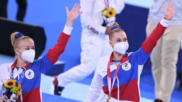 Лилия Ахаимова и Виктория Листунова