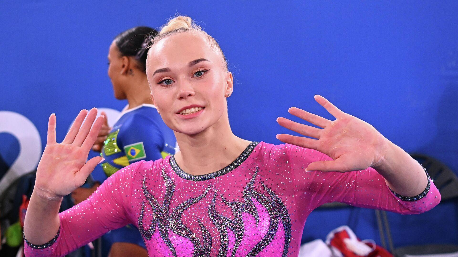 Российская гимнастка Ангелина Мельникова - РИА Новости, 1920, 29.07.2021