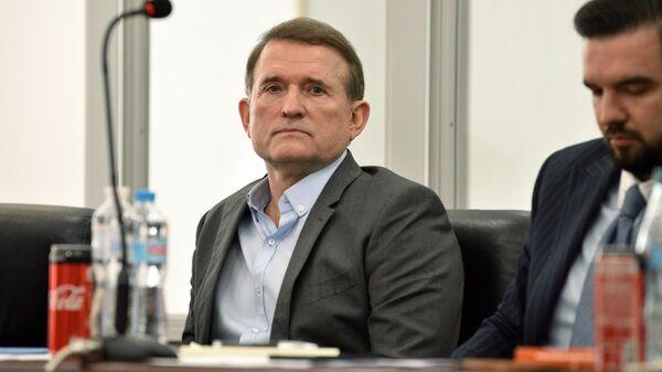 Заседание суда по делу Виктора Медведчука в Киеве
