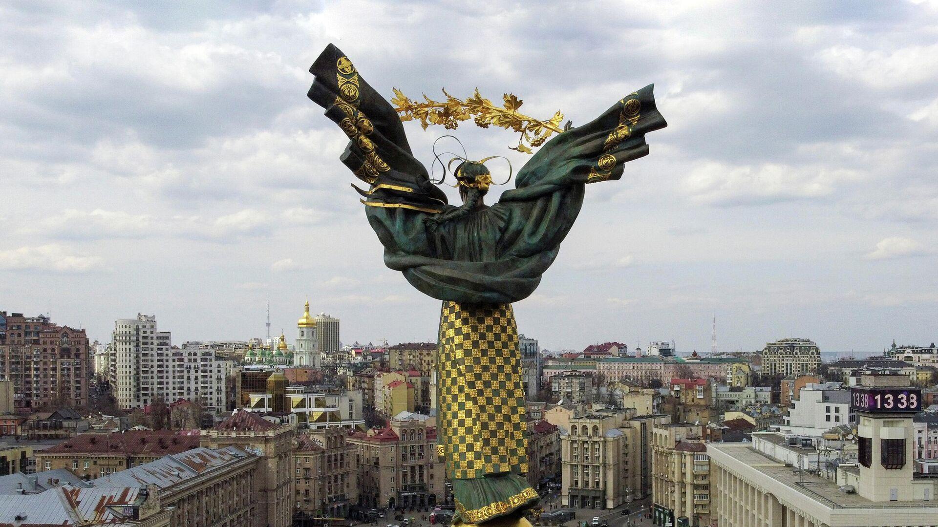 Монумент Независимости в Киеве - РИА Новости, 1920, 31.07.2021