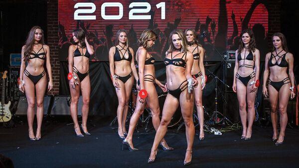 Участницы финала конкурса Miss Maxim-2021 в Москве