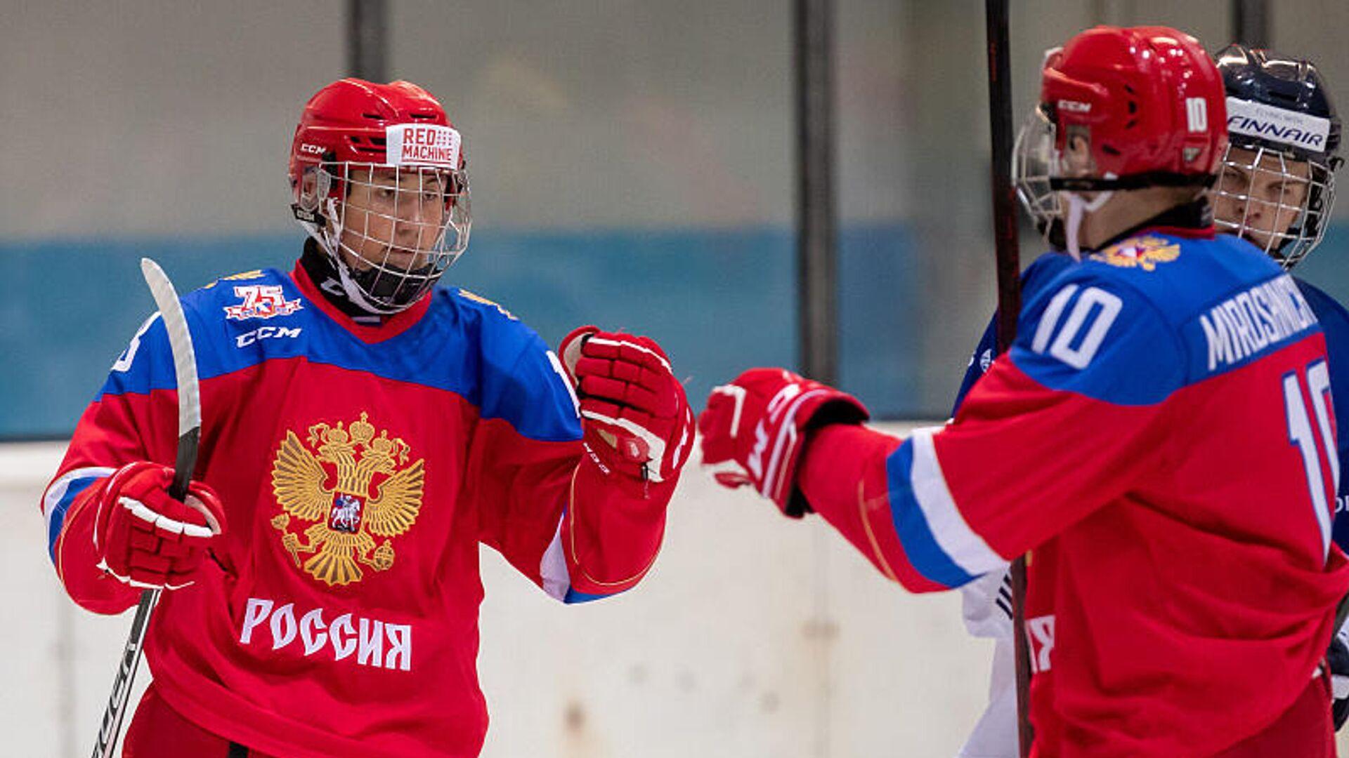 Юниорская сборная России по хоккею - РИА Новости, 1920, 04.08.2021