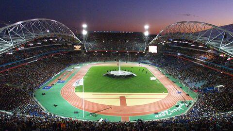 Церемония закрытия Олимпиады 2000 года в Сиднее