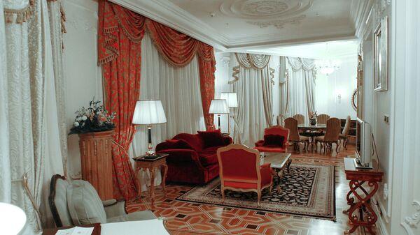 В номере бизнес-люкс отеля