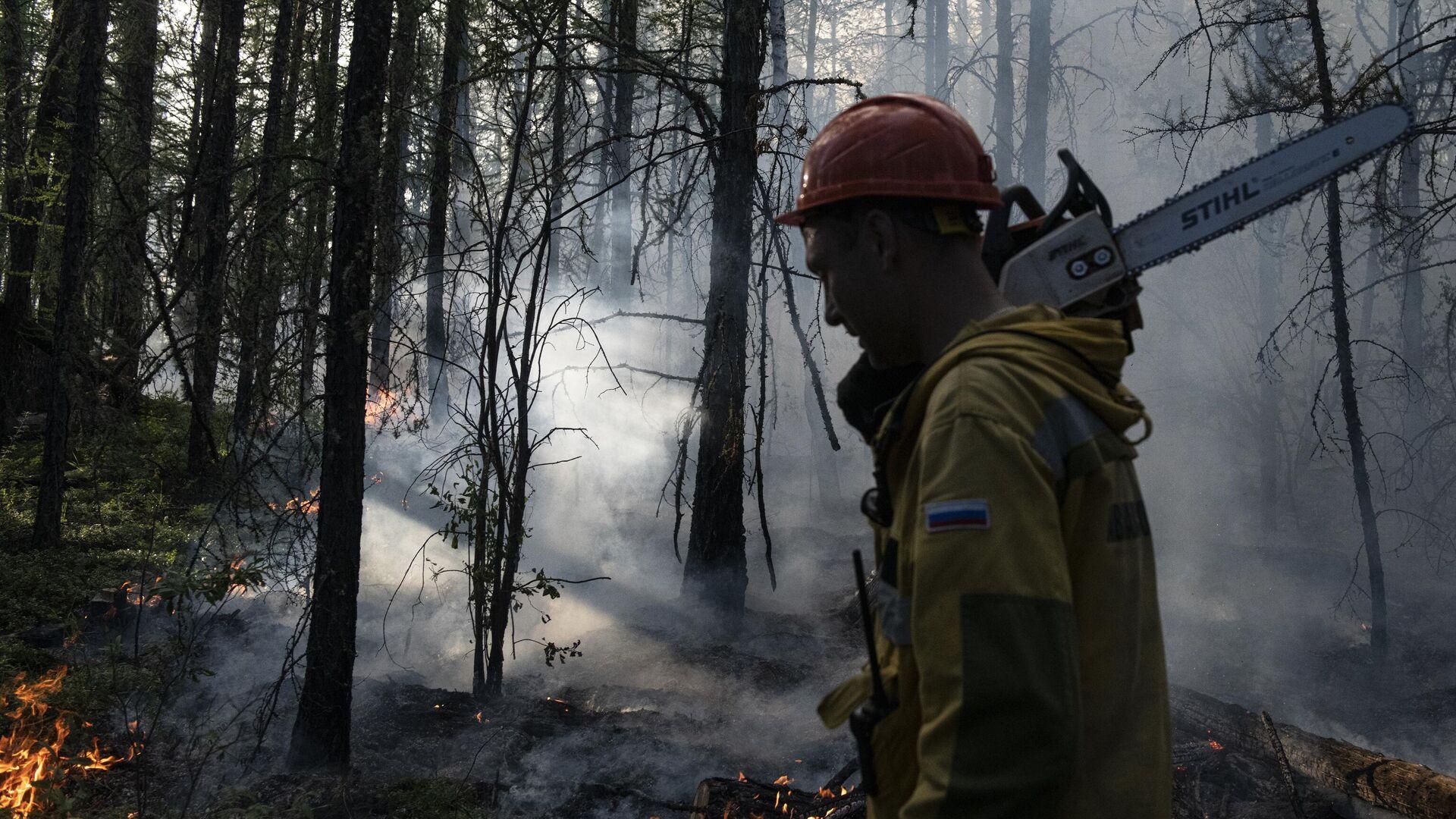 В России за сутки потушили 75 природных пожаров
