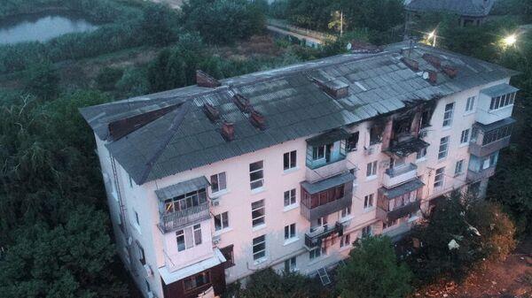 Последствия взрыва бытового газа в 4-этажном доме в Краснодаре