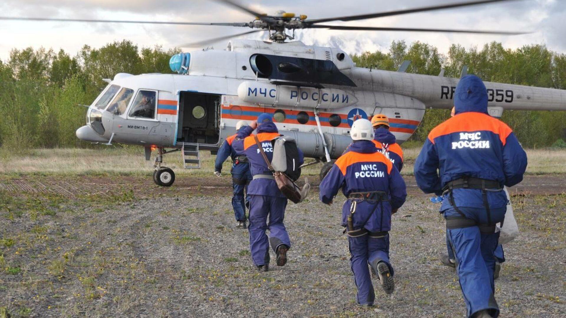 Глава Камчатки рассказал о поисках после крушения Ми-8