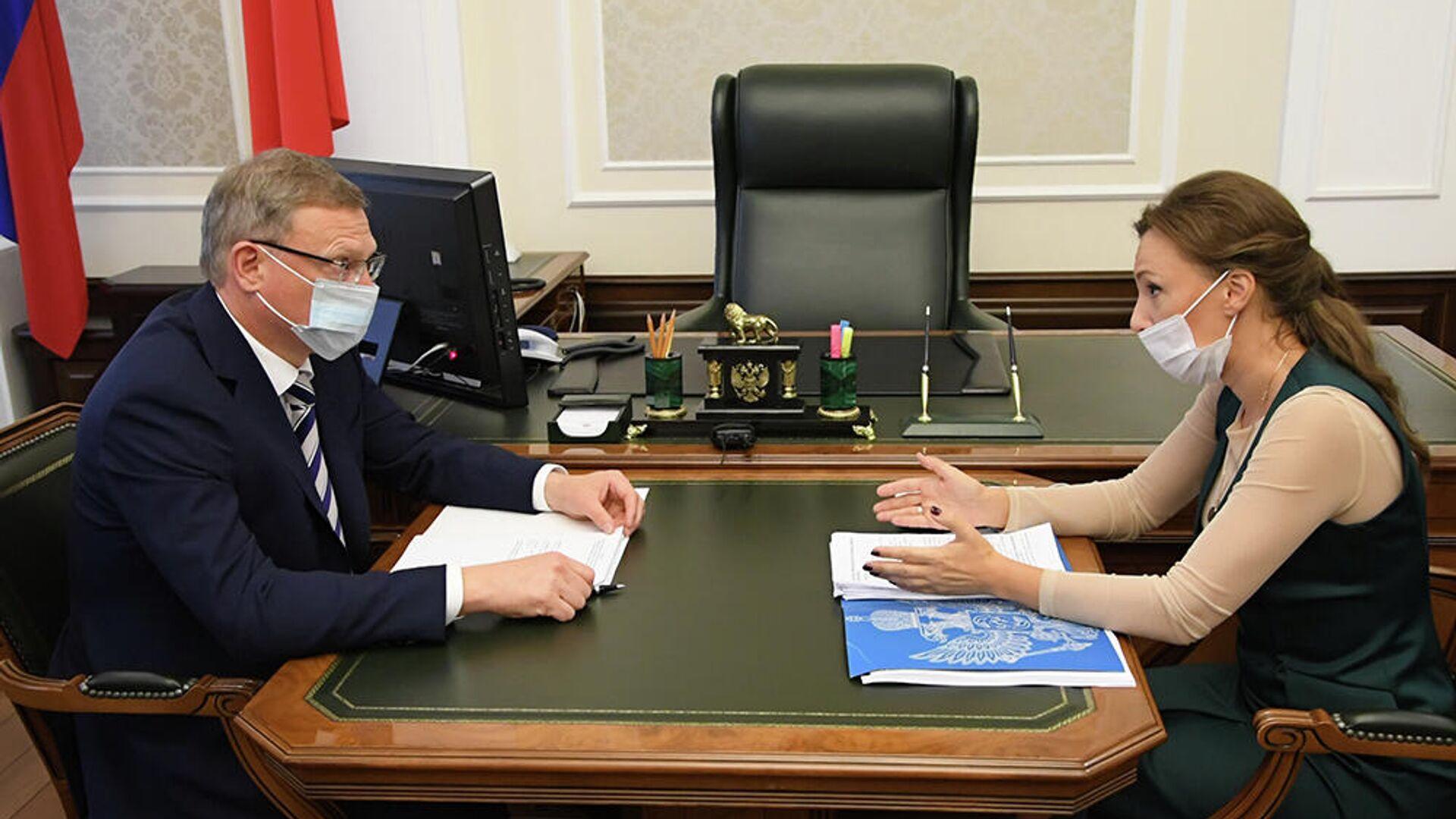 Омский губернатор подписал план по сотрудничеству с Татарстаном