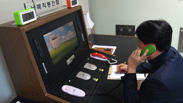 Синий иней лег на провода. Южная Корея и КНДР вновь остались без связи