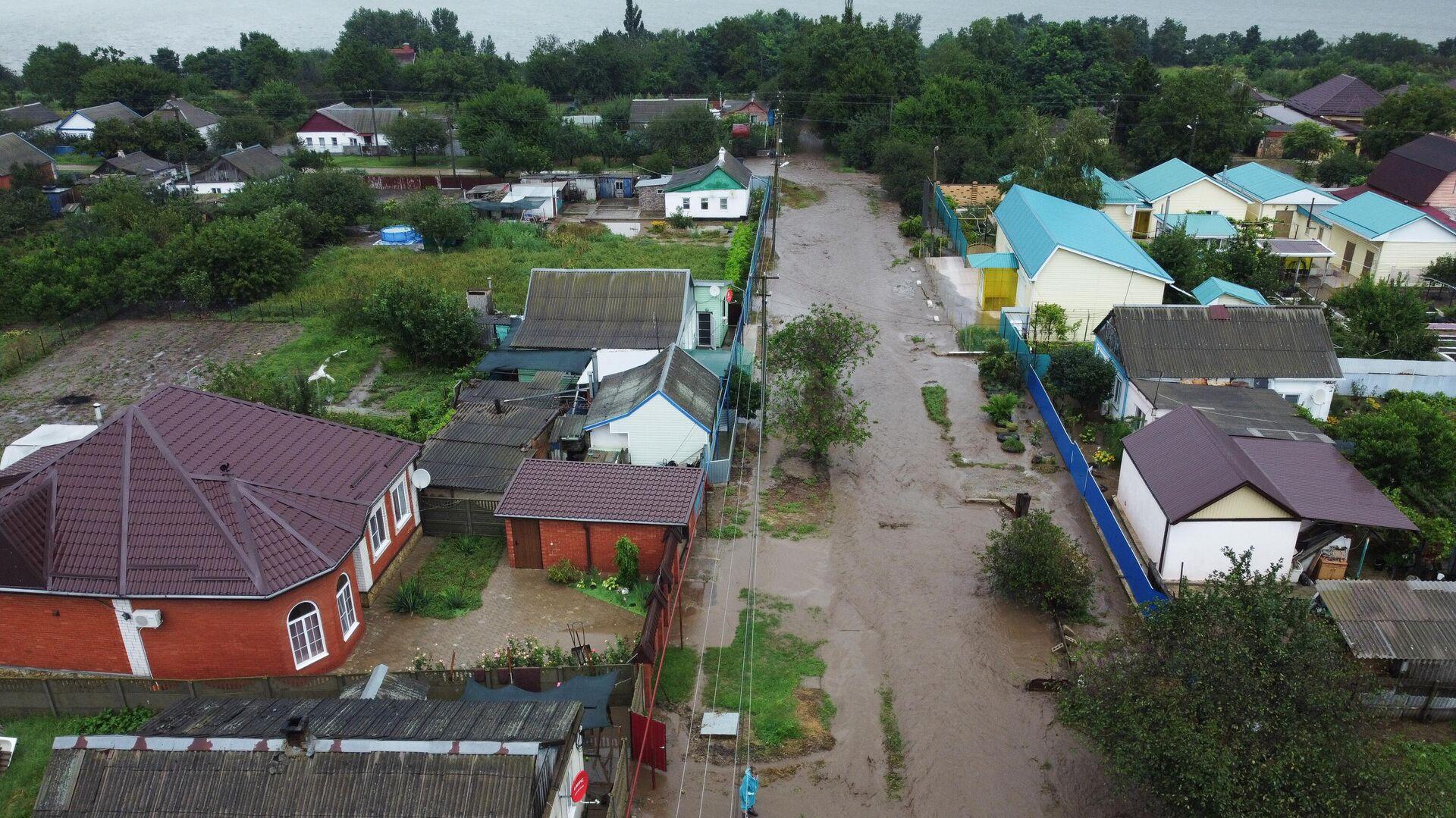 Грунтовые воды подтопили дома в бурятском поселке