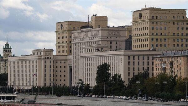 Здание Министерства обороны Российской Федерации на Фрунзенской набережной в Москве