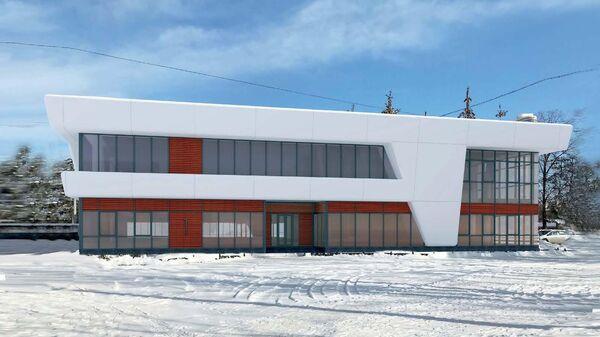 Проект реконструкции трамвайного депо имени Баумана на севере Москвы