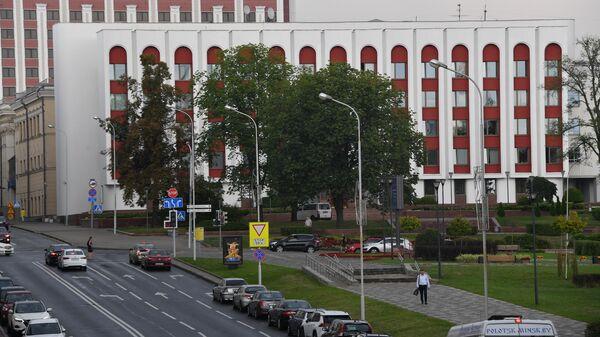 Здание МИД Белоруссии на улице Кирова в Минске