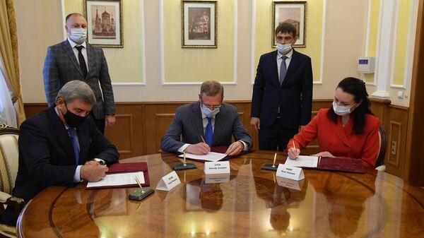 Губернатор Омской области оценил появление девелопера Эталон в регионе